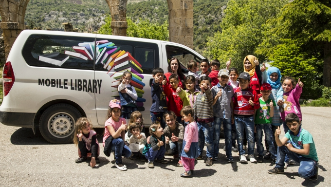 Mobile Library reaches out to children across the North