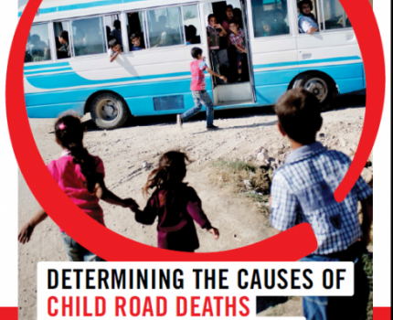 PRESS RELEASE: New report reveals the extent of fatal road crashes and the dangers children face every day on the streets of Lebanon