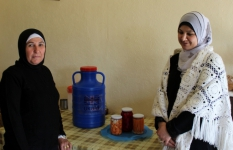 Nour and Rihab worked together to produce and market pickles